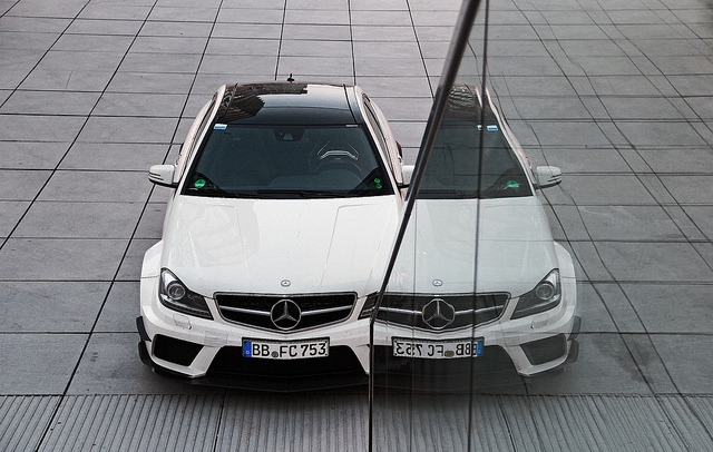 wellisnthatnice:  Mercedes C63 BlackSeries by mauto on Flickr.