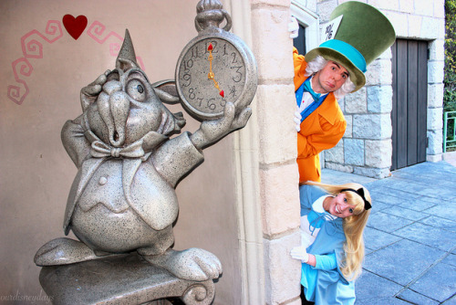 Mad Hatter and Alice on Flickr.
