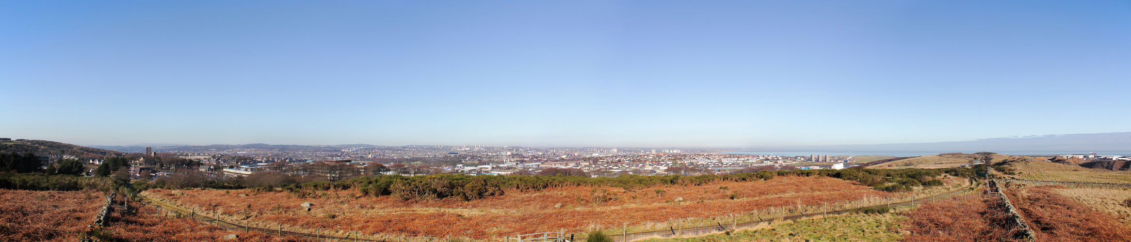 View from Cat Cairn, Tullos Hill, Aberdeen