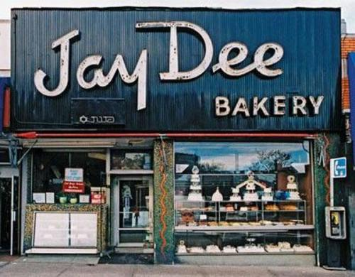 Jay Dee Bakery makes donuts but not those Donuts.Peep more Jay Dee logos (But Not Dilla's) —> http://bit.ly/WzLsqj