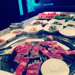 It's been so long… #kbbq #gaon #allyoucaneat #briskettt #nom #dinnerdate