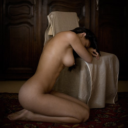 titillate-me:  Nude at the chair by fb101