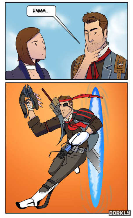 insanelygaming:  Bioshock Infinite Possibilities Created by dorkly