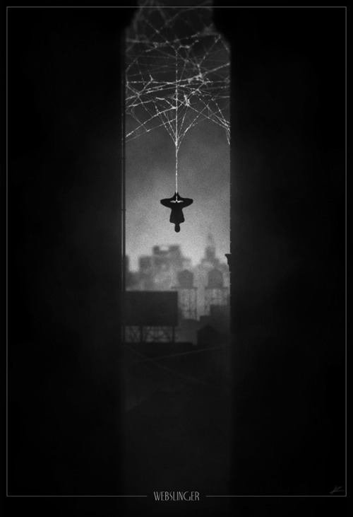 Superhero Noir Posters By Marko Manev Source: nerdapproved