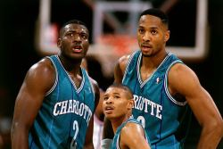 theonegodmadefunky:  Johnson, Bogues & Mourning.