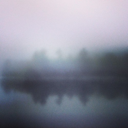 Early morning on the pond… (at Chapman Pond)