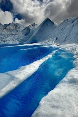 eqiunox:  The Blue Waters of Patagonia, Chile