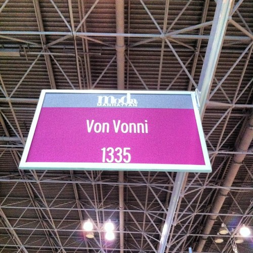 #VonVonni #tradeShow #Moda #ourBooth #WorkingWeekends (at Jacob K. Javits Convention Center)