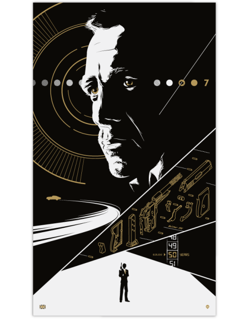 Fifty (Years of James Bond) by David Moscati