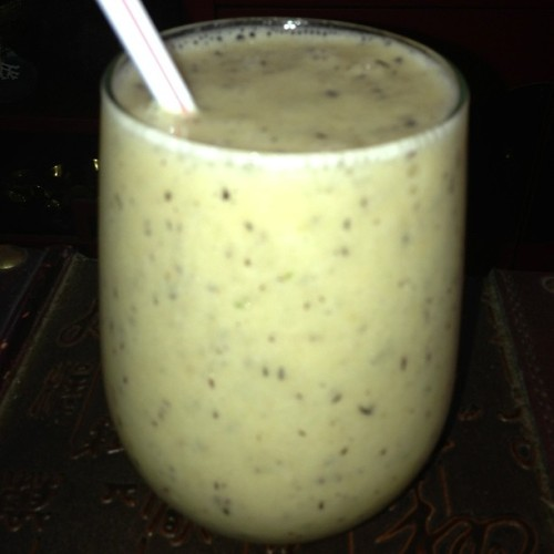 #Banana #Blueberry #Orange #Smoothie #Yummy #Lunch
