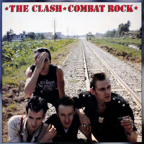 psych0candy:  31 years ago today The Clash released their fifth album Combat Rock 14th May, 1982.
