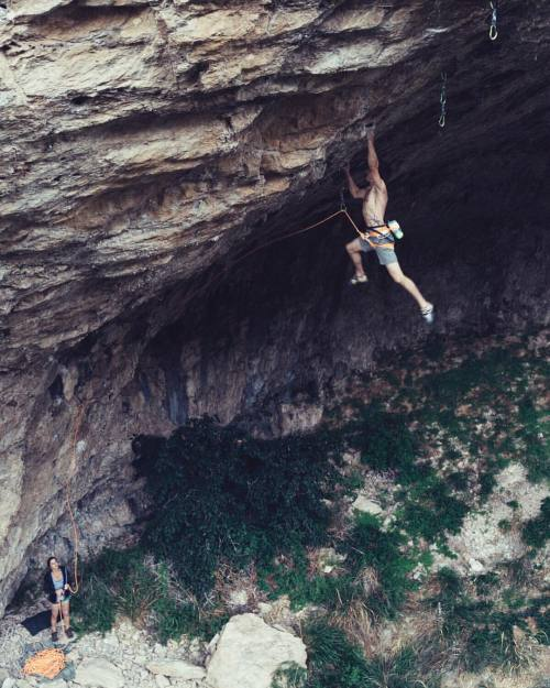 mlimphoto: @dawoods89 flying high on Planet Garbage (5.14+) as...