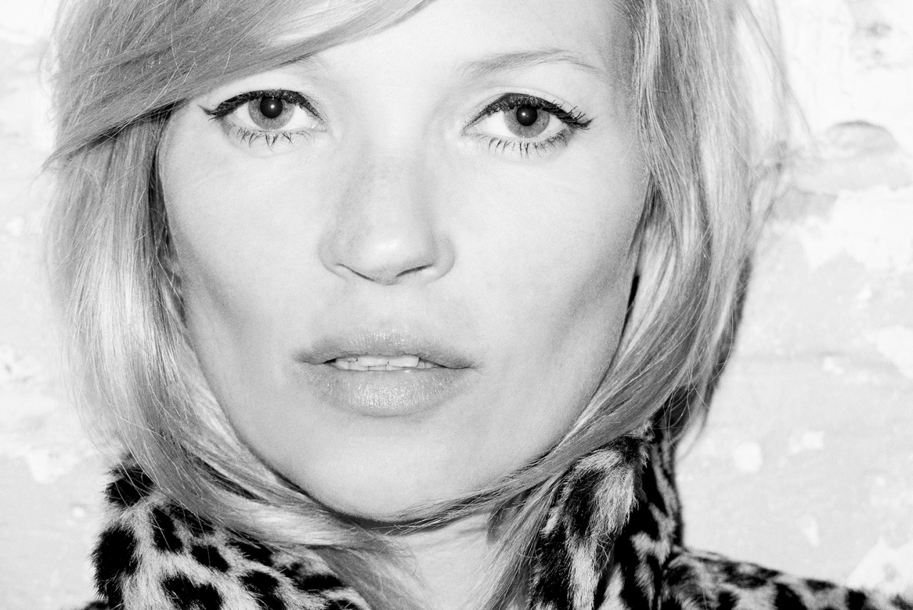 terrysdiary:  Kate Moss at my studio #3