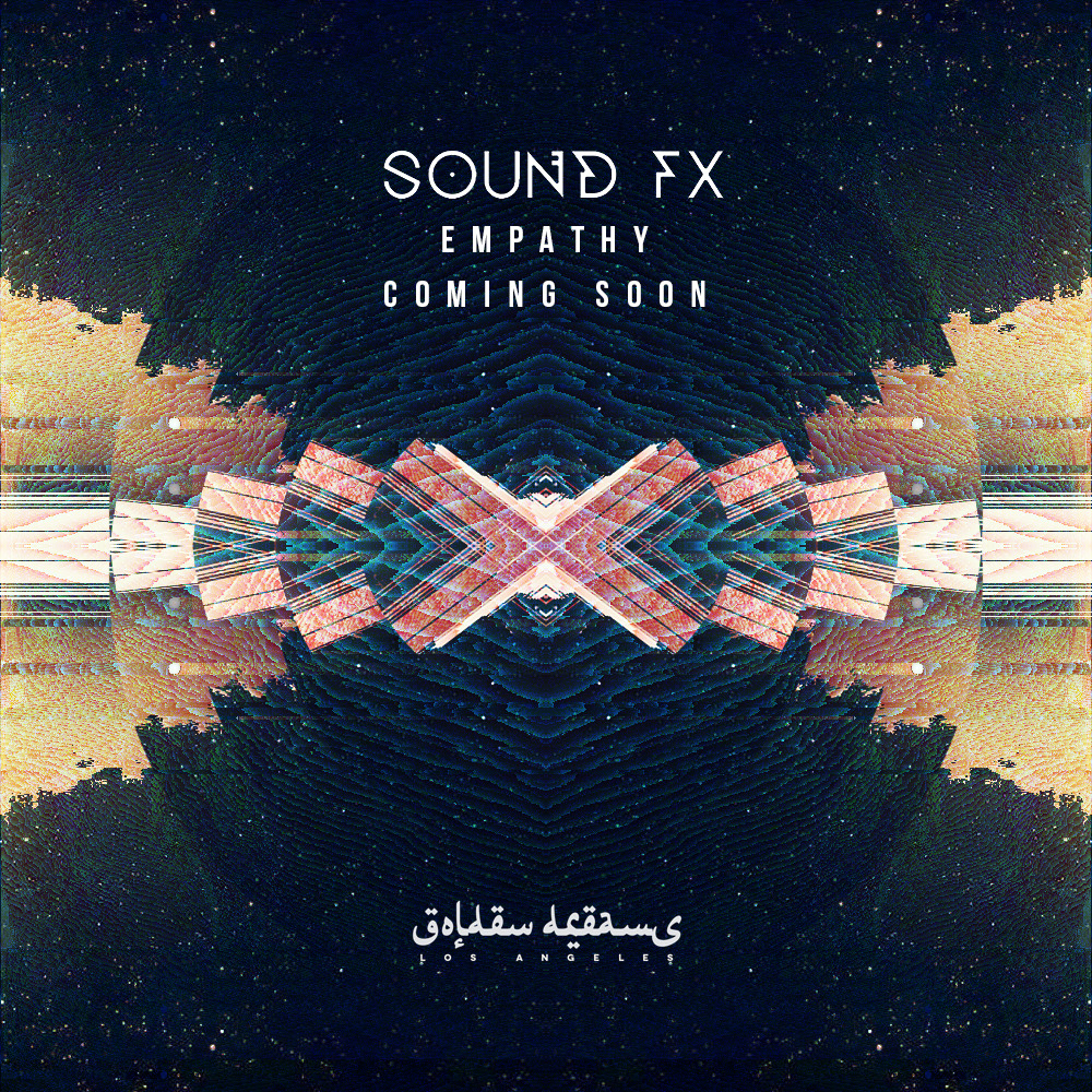 Promo artwork for the Sound Fx album Empathy.