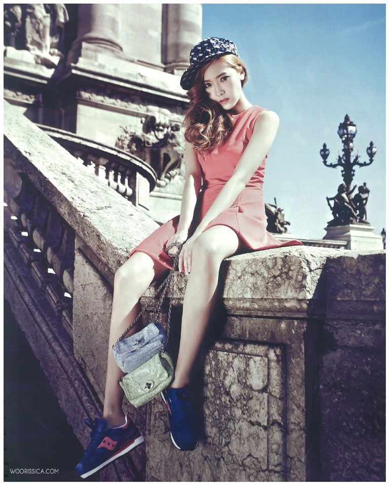 Jessica Jung - Vogue Girl June 2013 scans by woorissica.com