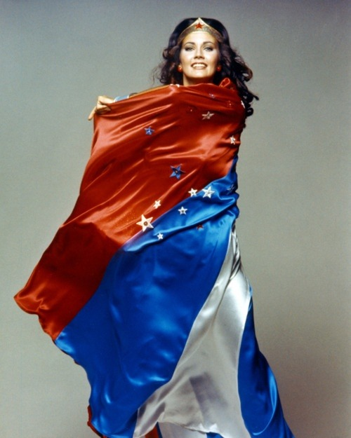 fuckyeahhotactress:  Lynda Carter as Wonder Woman