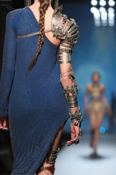 What Would Khaleesi Wear?Jean Paul Gaultiere Spring/Summer 2010