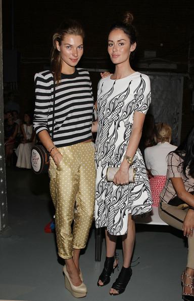 Jessica Hart + Nicole Trunfio