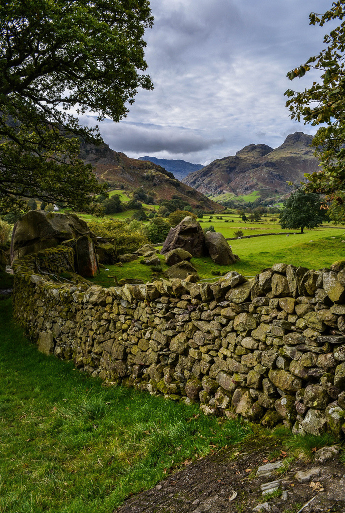 wanderthewood:  Langdale Valley, Lake District, England by Bardsea Photography