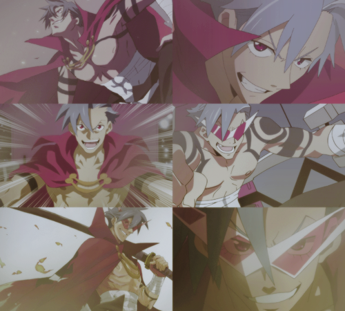 m-lady:  10 Epic Anime Characters [in no particular order]  04.Kamina • Tengen Toppa Gurren Lagann Don't believe in yourself, believe in me, who believes in you.