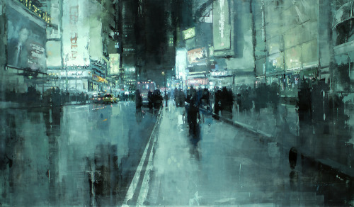 idreamofaworldofcouture:  Paintings by Jeremy Mann