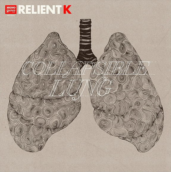 therelientkay:  Official album artwork for Collapsible Lung coming out July 2nd!