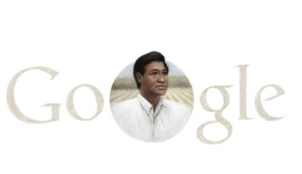 "Google celebrates Easter with…Cesar Chavez birthday tribute misstripleem, twitchy.com Yep. While two billion Christians around the world celebrate Easter Sunday on this 31st day of March, Google is using its famous ""Doodle"" search logo art to mark the birth of left-wing labor leader Cesar Chavez.For real:Christians from all walks o…  Como son odiosos,ahora resulta que todos tienen que bailar la misma rola."