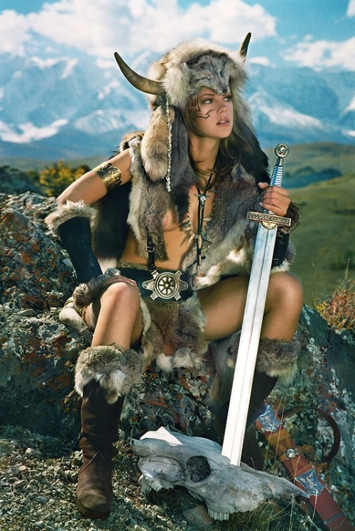 epic-nudes:  Taluna Warrior girl from mountains