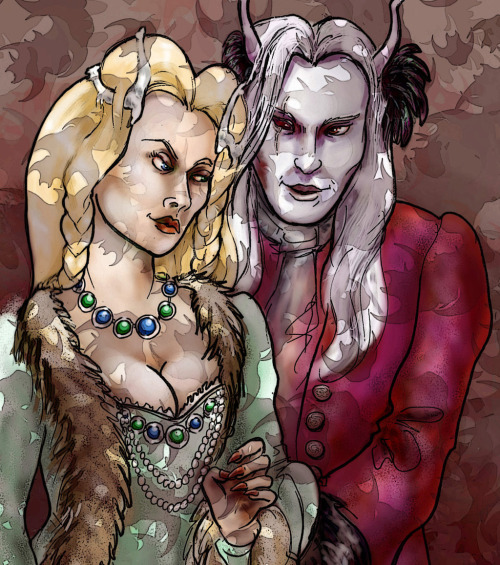 Shiera and Brynden by *kethryn