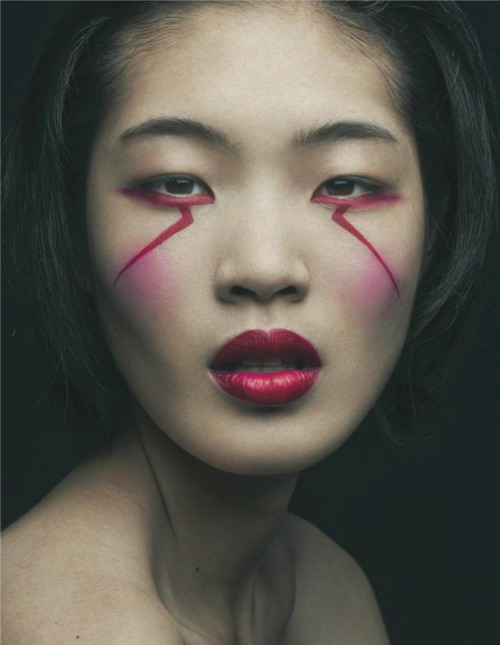 Chiharu Okunugi photographed by Mathieu Vladimir Alliard