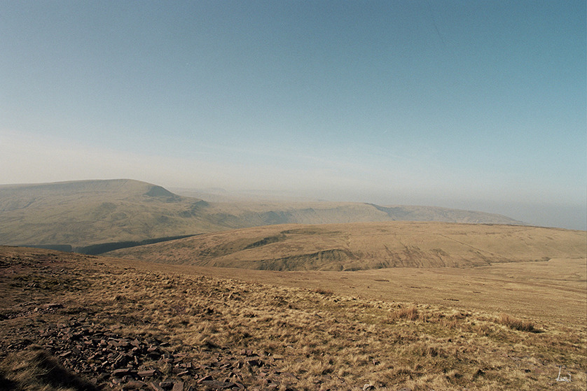 #18 Welsh Landscape - 35mm: Kodak Portra 160