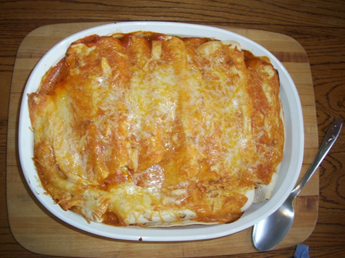 Recipe: Chicken EnchiladasToday's post is from Liza of 6birds. I can't wait to try out this recipe when I'm back from…View Post