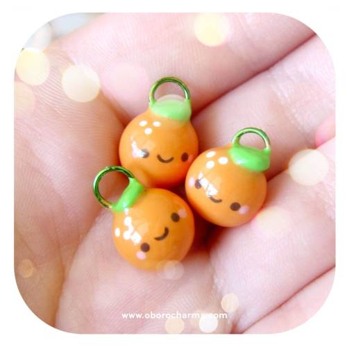 Brand new baby orange charms in stock! Get them here: http://www.oborocharms.com/collections/FoodsMake sure to use code MARCH15 at checkout during our Spring Sale for 15% off your order!For help with how to use the code: http://www.oborocharms.com/pages/coupon-code