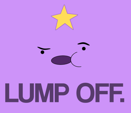 damnsillysloth:  i made a thing  yes, you did. And it's lumping awesome.