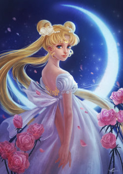 Hi, please check out this fan art I did for Moon Princess Serenity! :) http://yangtianli.deviantart.com/gallery/#/d5tvuha—————-Amazing piece of work, thanks for submitting!