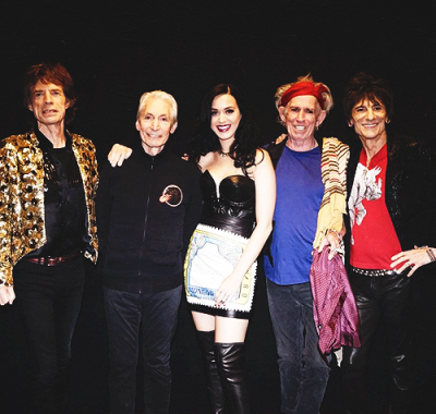 Katy Perry with The Rolling Stones in Las Vegas - May 11th, 2013