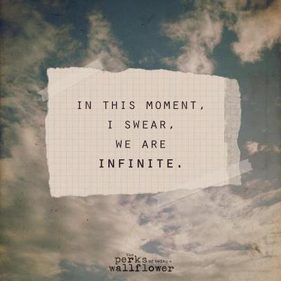 In This Moment, I Swear, We Are Infinite | via Tumblr on We Heart It - http://weheartit.com/entry/62060611/via/annamthrfckr   Hearted from: http://gamsaid.tumblr.com/post/50908408992/the-perks-of-being-a-wallflower-on-we-heart-it