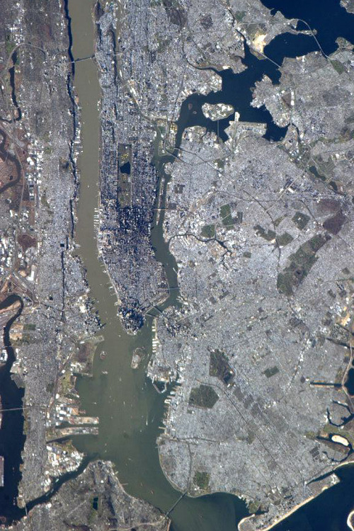 nevver:  New York City From Space