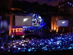 "'The Glowing Man' being shown at TED 2013 on the 25th February in Long Beach, California:  ""The Young. The Wise. The Undiscovered."""