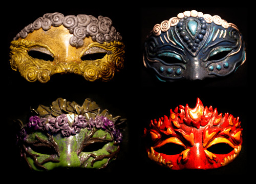 Elemental masks