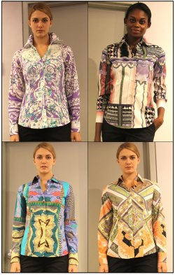 Elegant in Print - ETRO Official's eclectic and vibrant array of color-clash prints meet classic tailoring in their signature button down shirts.  Which of these prints is calling out to you?