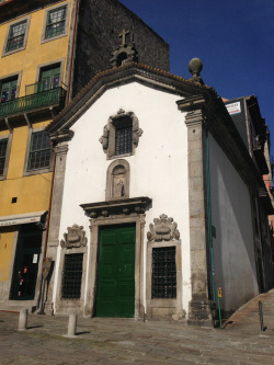 travelswithvern:  Nice old chapel in Porto