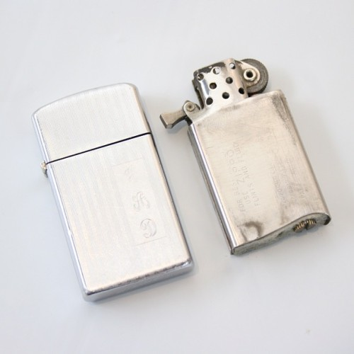 shopthemrkt:  Cool vintage lighters up now on etsy #nofilter #zippo #vintage #lighter #chrome #themrkt