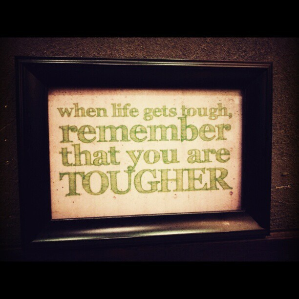 when #life gets tough