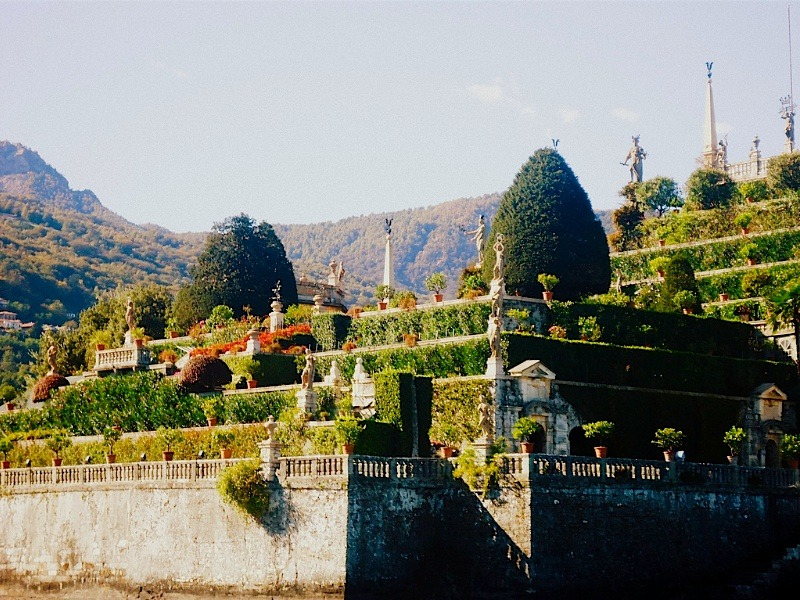 | ♕ |  Isola Bella Garden  | by © Andrea Meza This ancient-Roman aristocracy garden is located on the Borromeo Islands of the Lake Maggiore in Lombardy, Northern Italy.