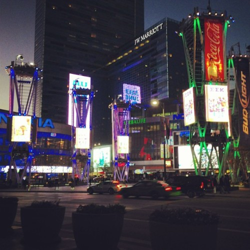 Love my city!! #dtla  (at LA Live)