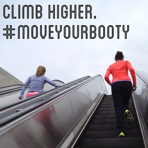 Can you go further?? I thought so. Never stop climbing. #moveyourbooty @raens @jemarcov / on Instagram http://bit.ly/10zrFZy