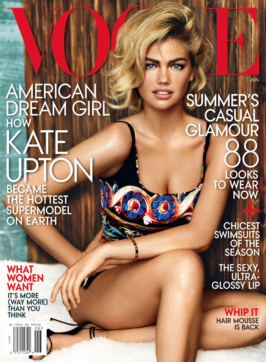 Kate Upton - Vogue by Mario Testino, June 2013 EEE!