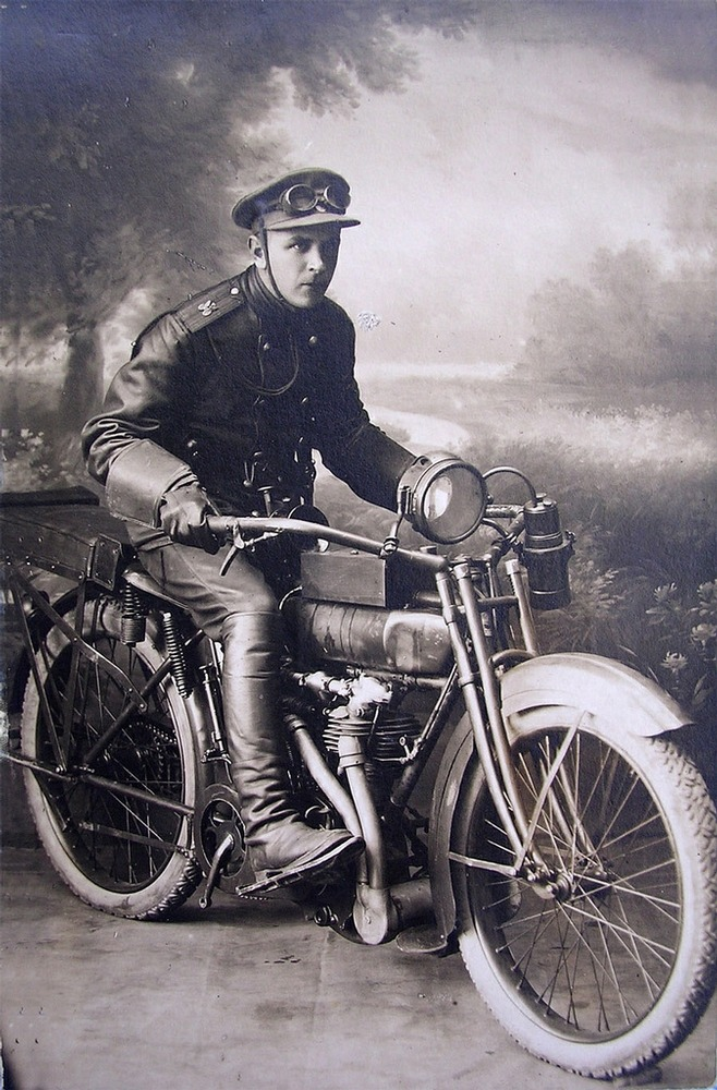 Motorcycles In the Russian Empire | English Russia