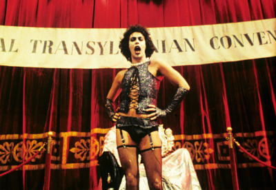 Tim Curry as Dr. Frank-N-Furter. RockyMusic